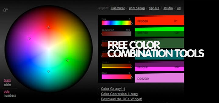 25 Powerful Free Color Combination Tools for Graphic Designers