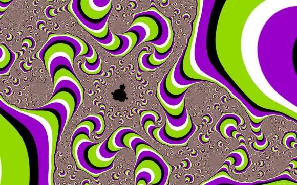 3d opticial illusions