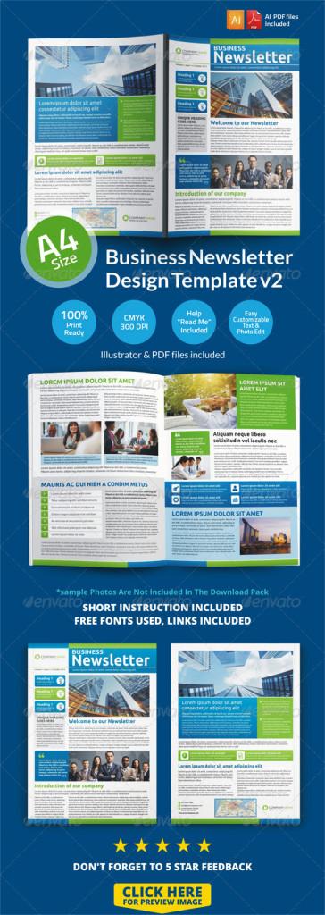 newsletter-design-template