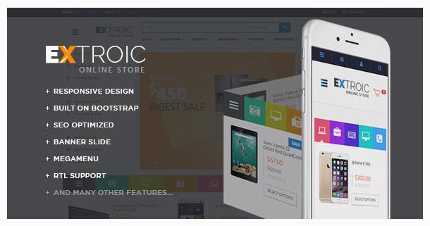 Ap Extroic - Shopify Responsive Theme