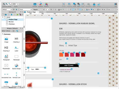 Axure – Wireframe Software Tool