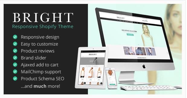Bright - Responsive Shopify Theme