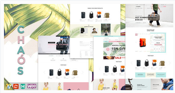 Chaos - Responsive Bag Shop Theme
