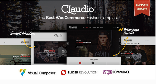 Claudio - Responsive Ecommerce WordPress Theme