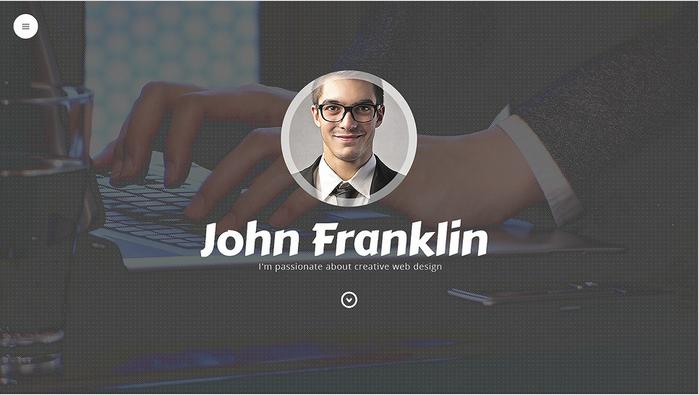 Designer's Portfolio WordPress Theme