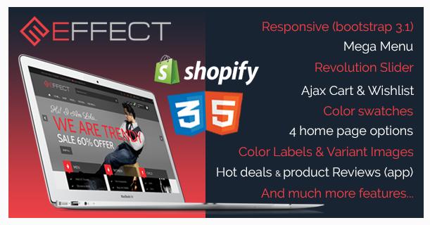 Effect - Responsive Shopify Theme