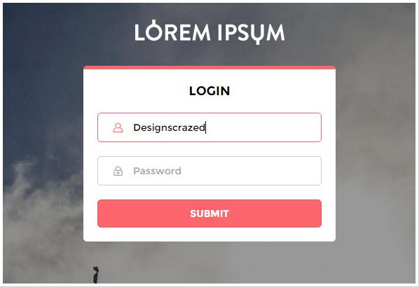 Elegant Login