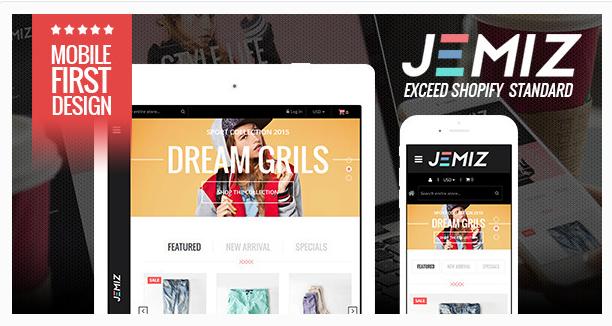 Fashion Responsive Shopify Theme - Jemiz