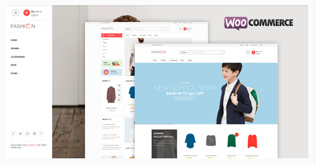 Fashion Store - Responsive WooCommerce Theme
