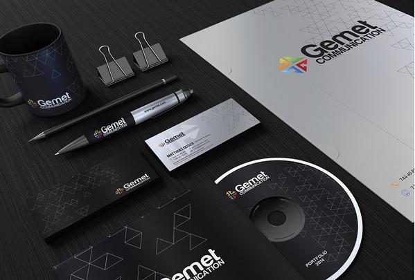 Free Corporate Branding Identity Mockup