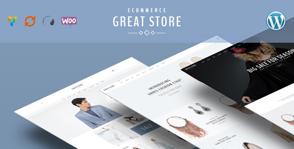 GREAT STORE – Responsive WordPress Theme eCommerce
