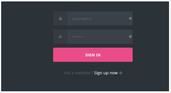 New CSS3 Login Form