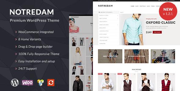 Notredam - Premium WooCommerce Theme