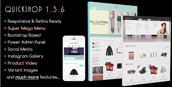 Quickshop - Responsive Shopify Theme