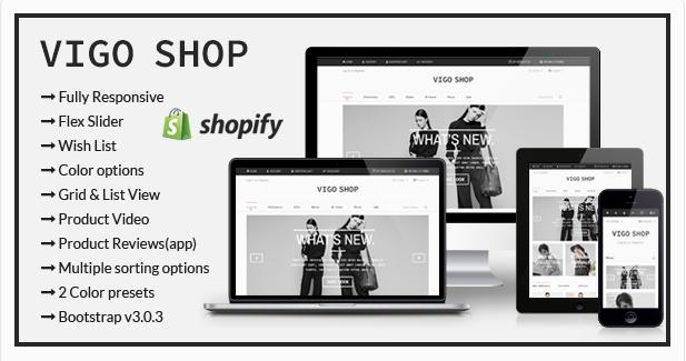 Vigo Shop - Responsive Shopify Theme