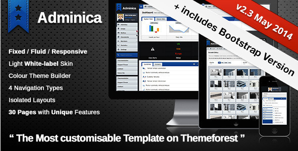 Adminica | The Professional Admin Template