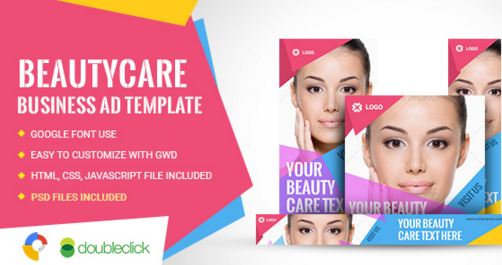 Beauty Care | HTML5 Google Banner Ad