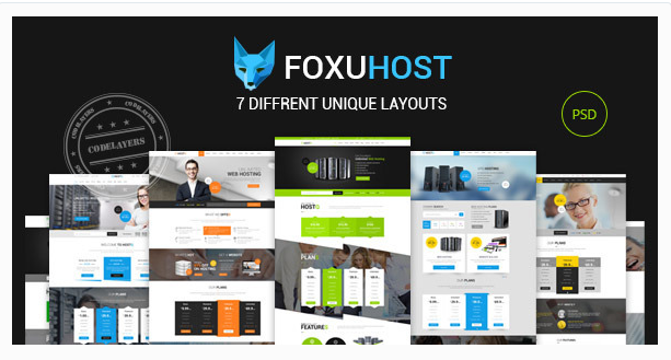 Foxuhost - Hosting / Business Template