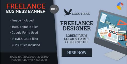 Freelance Business Banner - 001