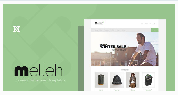 Melleh - Clean Virtuemart Template