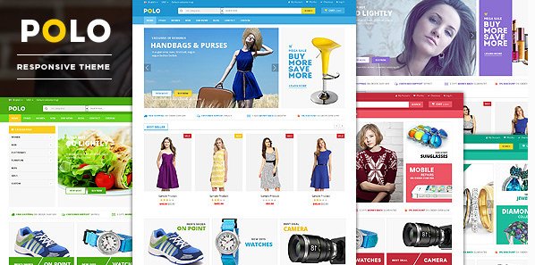 Polo - Responsive VirtueMart 3 Theme