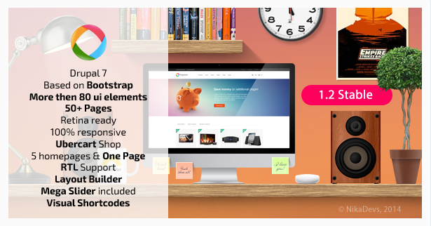 10 Drupal Ubercart eCommerce Templates and Themes