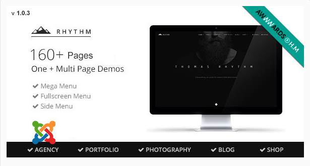 Rhythm - Multipurpose Virtuemart Joomla theme