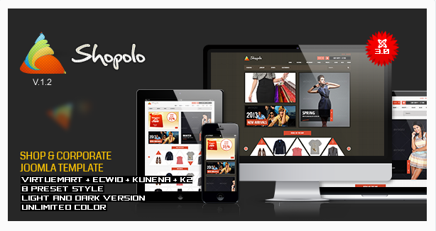 Shopolo - Responsive Joomla Shopping Template