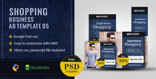 Shopping | HTML5 Google Banner Ad 6