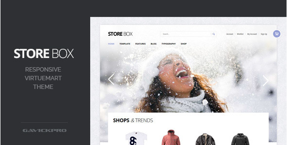StoreBox - Responsive VirtueMart Theme