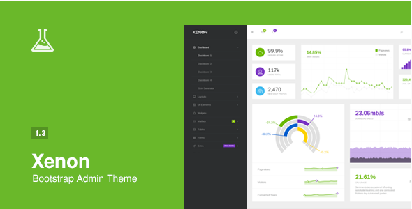 Xenon - Bootstrap Admin Theme with AngularJS
