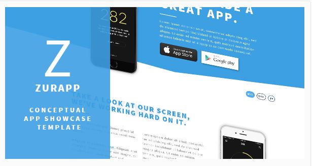 ZurApp - Conceptual App Showcase Template