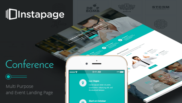 Conference - Instapage Landing Page