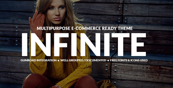 Infinite Shop - Multipurpose eCommerce