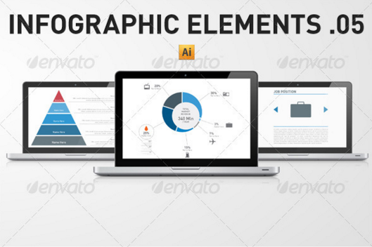 Infographic Elements Template Pack 05