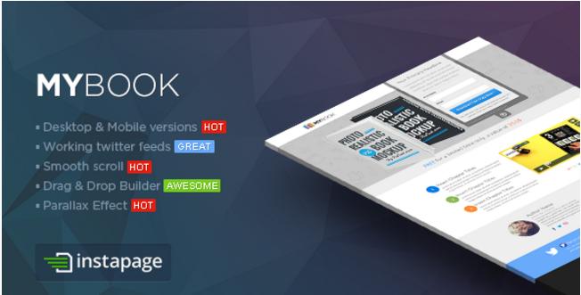 MYBook - Instapage ebook Landing Page