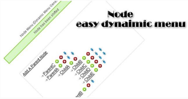 Node (dynamic menu made easy)