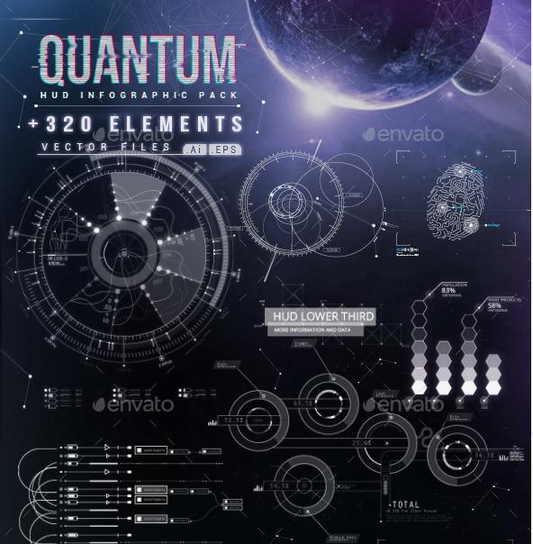 Quantum - HiTech HUD Creator Kit