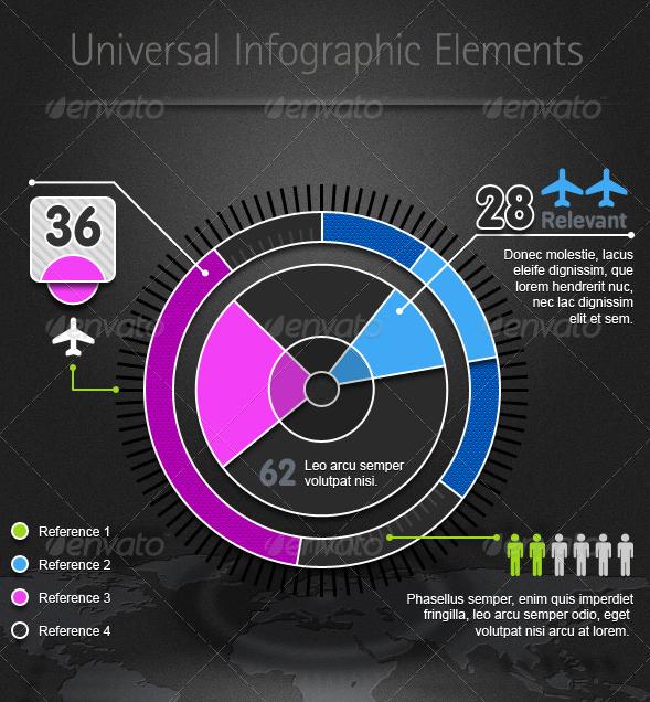 Universal Infographic Elements