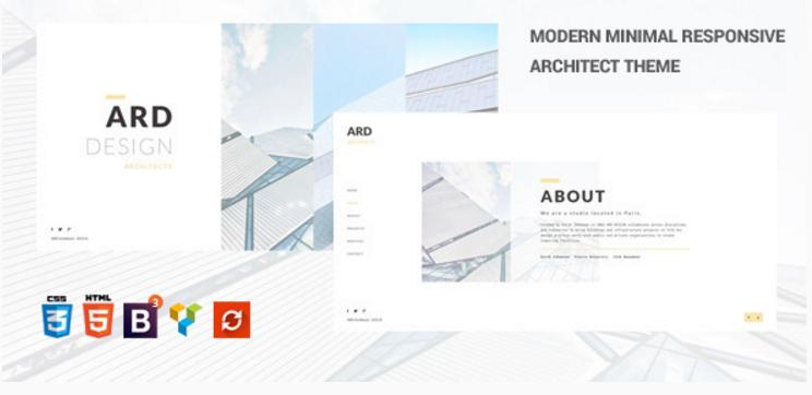 ARD - Architect | Builder Minimal WordPress Theme