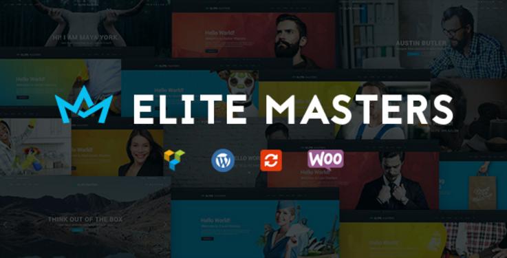 Business Multi-Purpose WP Theme | EliteMasters