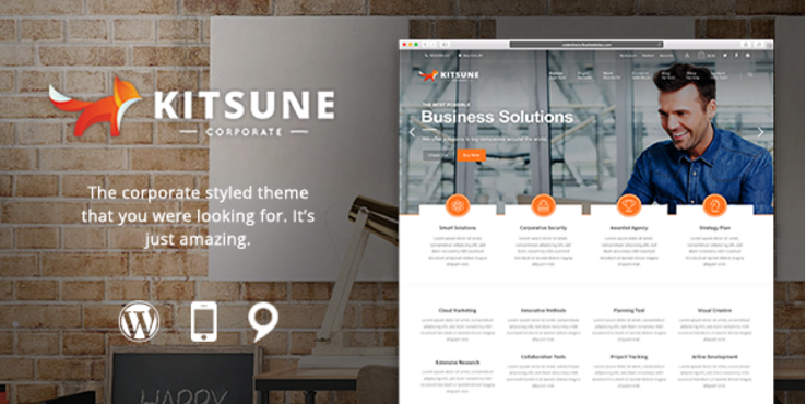 Kitsune - Innovative and Easy-to-Use Theme