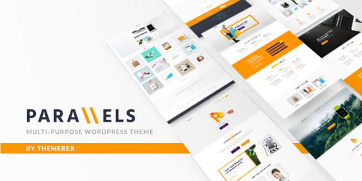 Parallels - Multipurpose WordPress Theme
