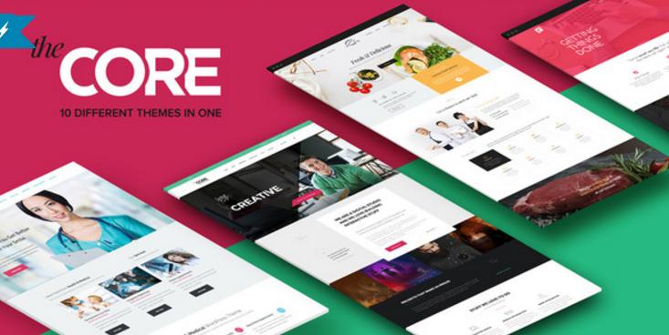 The Core - Multi-Purpose WordPress Theme