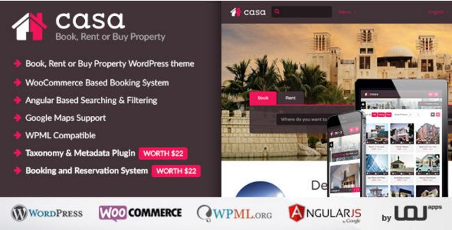 Casa - Book, Rent or Buy Property