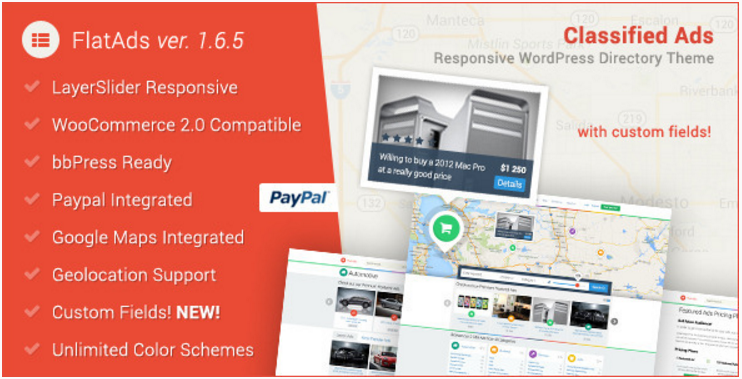FlatAds - Classified AdsWordPress Theme