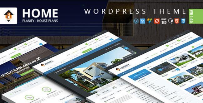 Home Planify - WordPress Real Estate Theme