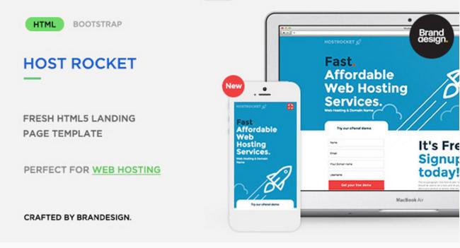 Hostrocket HTML5 Template
