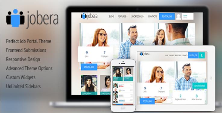 Jobera - Job Portal WordPress Theme