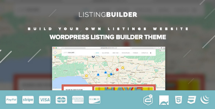 ListingBuilder - WP Listings Directory Theme